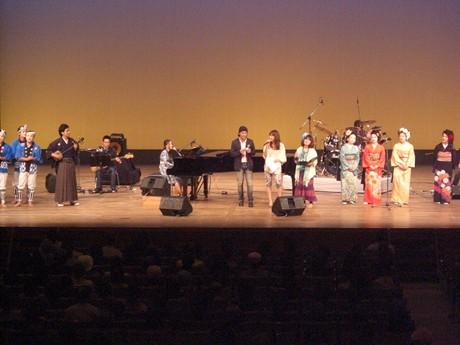 宮良公民館主催「ばがー島チャリティー公演」