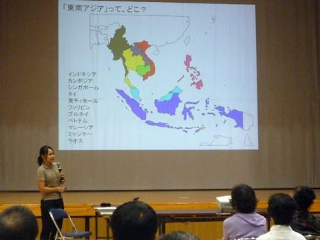 石垣で熱研市民公開講座。東南アジアの果樹栽培について学んだ。