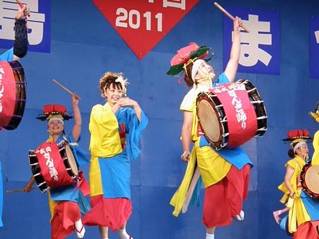 石垣島まつりで盛岡さんさ踊り「さんさ好み」が最優秀賞