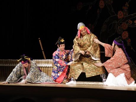 7月に116年ぶりに復活上演された組踊「伊祖の子」、市民会館で再演