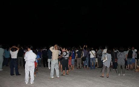 石垣島で南十字星の観望会
