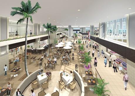 新石垣空港国内線旅客ターミナルビルの入居テナントを発表