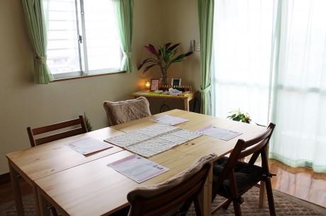マンション1室、4坪で最大10人利用できる