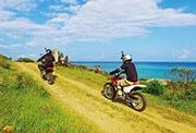 石垣で初のオフロードバイクツアー 石垣島北東部の大自然楽しむ