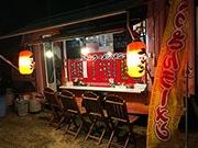 石垣に移動博多ラーメン店 本場の味を試して