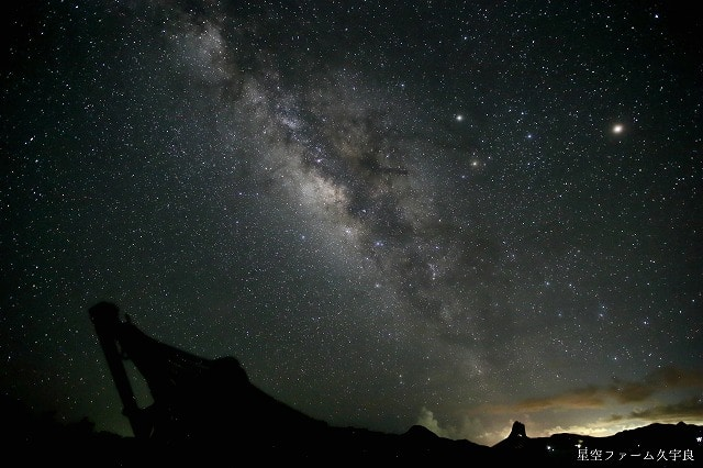 「星の島」と呼ばれる石垣島の星空