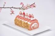 インターコン石垣で「さくらロール」 桜と春をロールケーキに包み込む