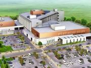 沖縄県立八重山病院の工事進む 住民向け見学会を実施