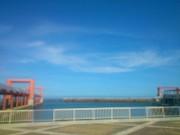 晴天の西表島大原港