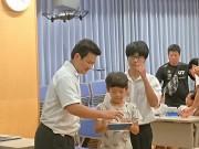 石垣・八重山商工高校でプログラミング教室 高校生ら指導サポート
