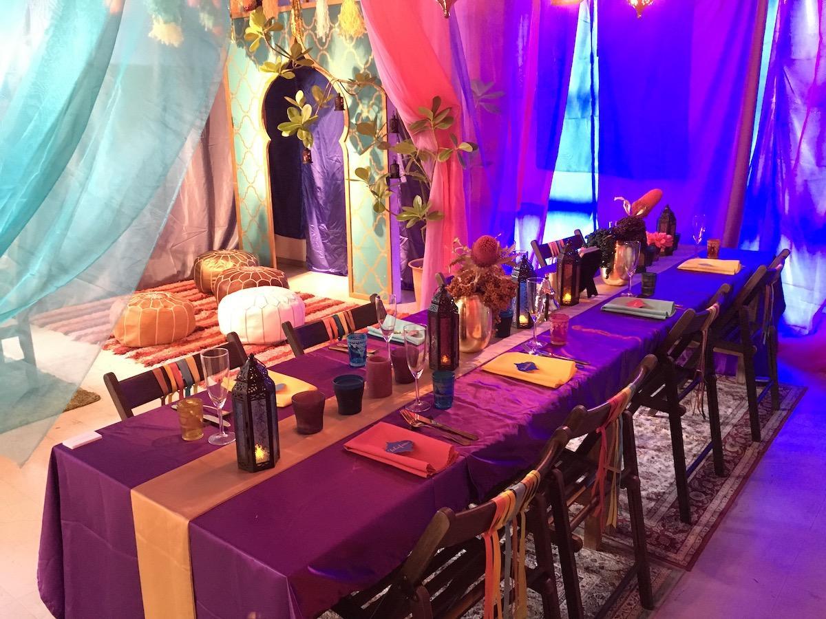 ゆいロードシアターで開催されている「WindyLink PARTY&RRENTAL」の商品展示イベント