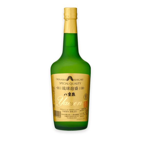 「東京ウイスキー&スピリッツコンペティション2021」焼酎部門で最高金賞を受賞した「八重泉樽貯蔵」