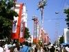 八重山最大の伝統行事「四ヵ字豊年祭」-観光客も参加して開催