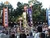 石垣白保で豊年祭-恒例「稲の一生」パフォーマンスに会場沸く
