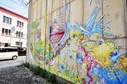台湾のアーティスト集団「新台湾壁画隊」、石巻で壁画制作