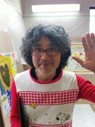 絵本作家・荒井良二さん、子どもたちと旗作り-石巻でワークショップ