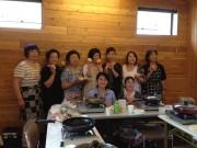 石巻・雄勝町でパン作りのワークショップ