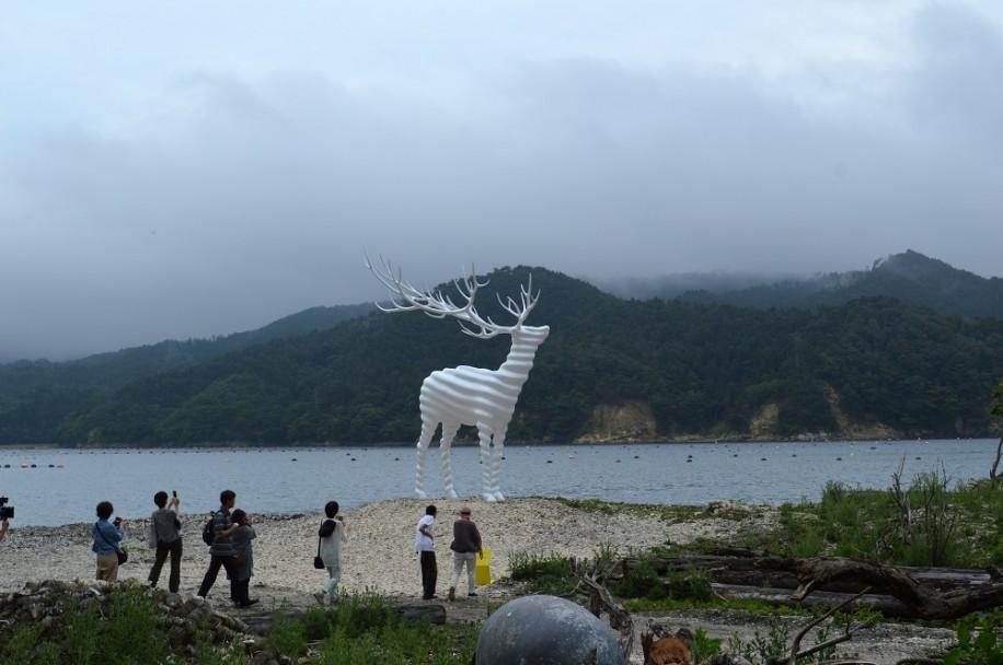 石巻・牡鹿エリアで「リボーン・アート・フェスティバル2017」開幕