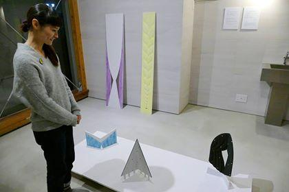 石巻出身の彫刻家・ちばふみ枝さん、地元ギャラリーで企画展