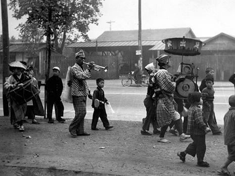 1950(昭和25)年当時の赤塚新町3-1付近