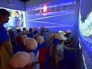 板橋区役所で東京五輪・パラリンピック機運醸成展 野老朝雄さんデザインの大会エンブレムパズルなど