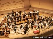 板橋区立文化会館で避難訓練コンサート 「ぱんだウインドオーケストラ」が演奏