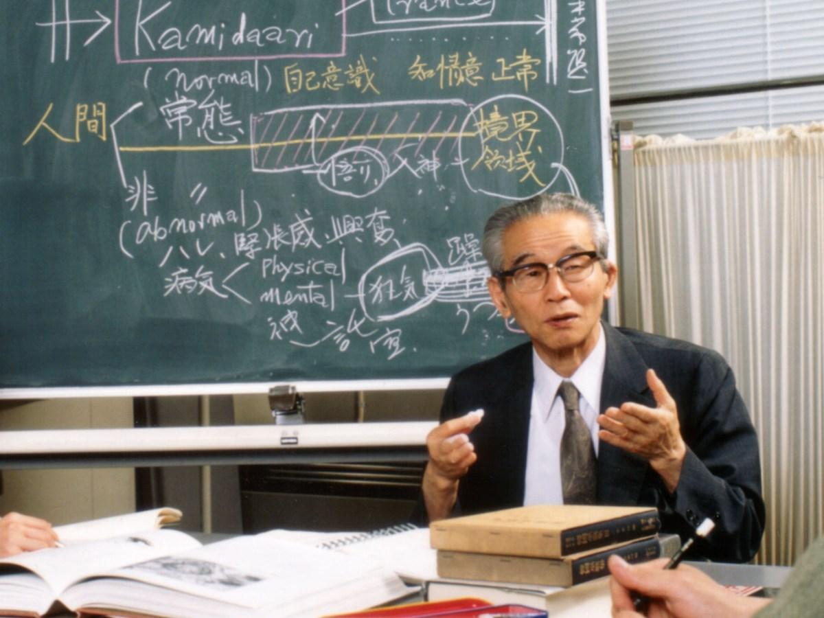 故・櫻井徳太郎さん ©板橋区公文書館