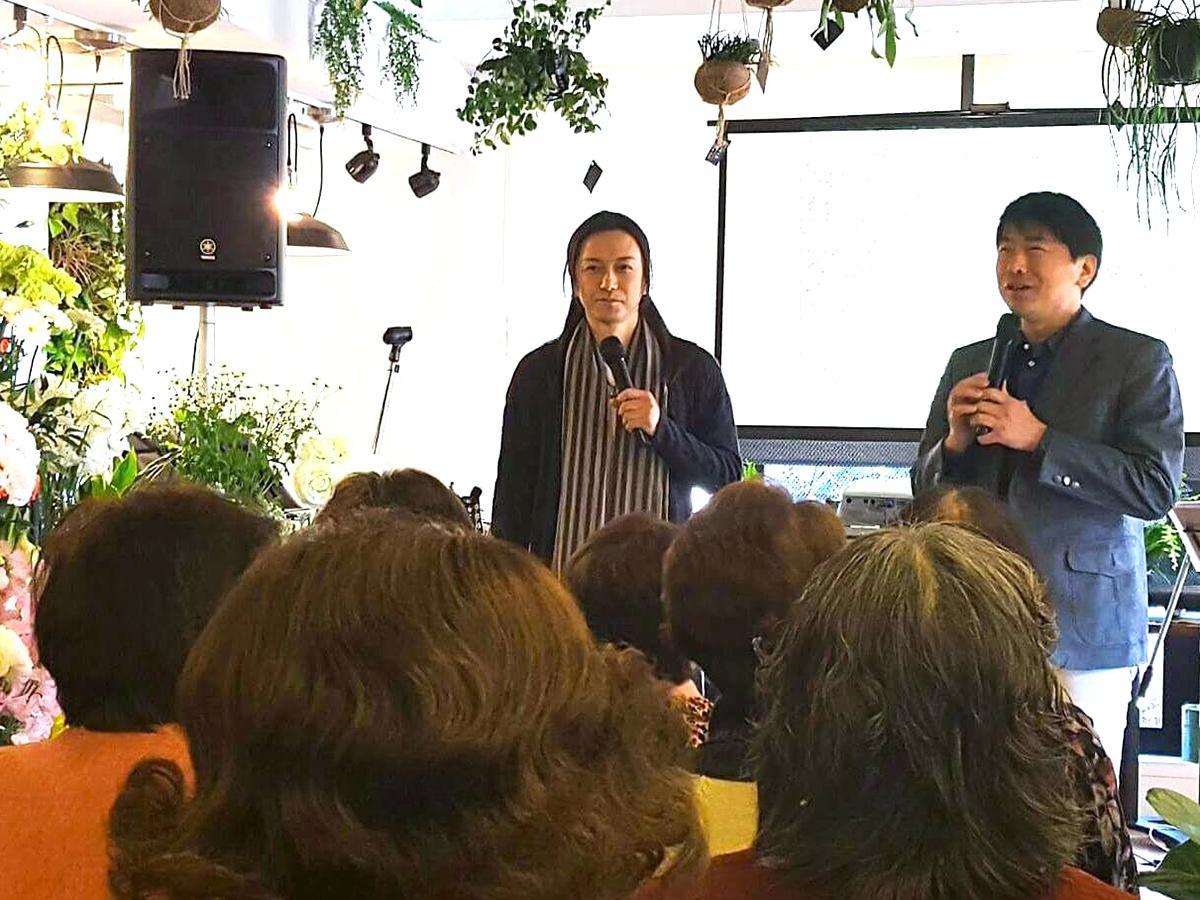 長野県で行われたライブの様子