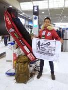 板橋在住の冒険家・阿部雅龍さんが日本人未踏ルートで南極点到達