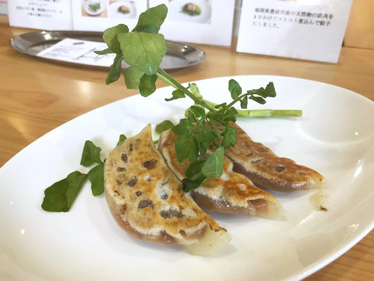 板橋のギョーザ専門店で「ジビエギョーザ」販売へ 豊前産シカもも肉使う