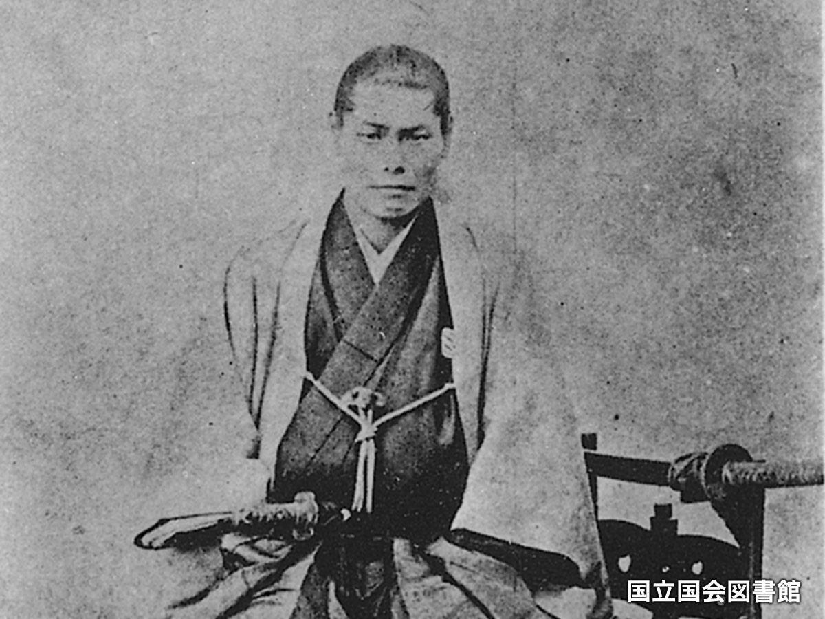 1868(慶応4)年、旧暦4月25日に板橋刑場で斬首された近藤勇 ©国立国会図書館