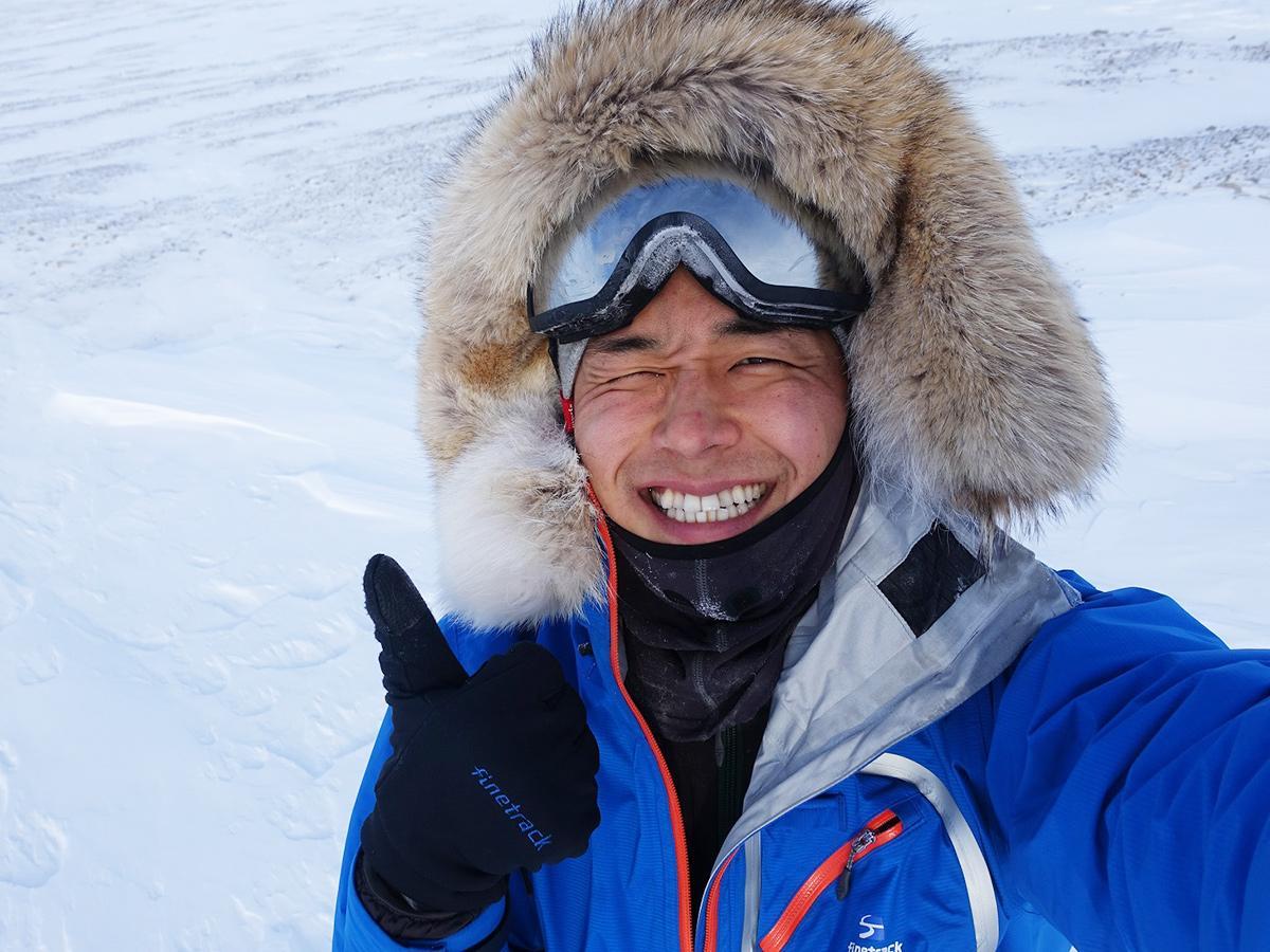 今年1月に単独徒歩による南極点到達を達成した阿部雅龍さん