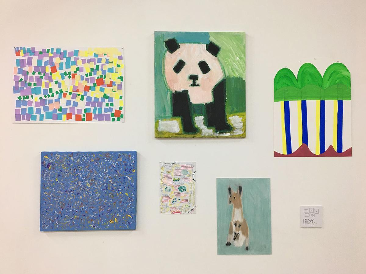 「ART BRUT(アール・ブリュット)ハンカチーフ」の原画展「えとハンカチ」