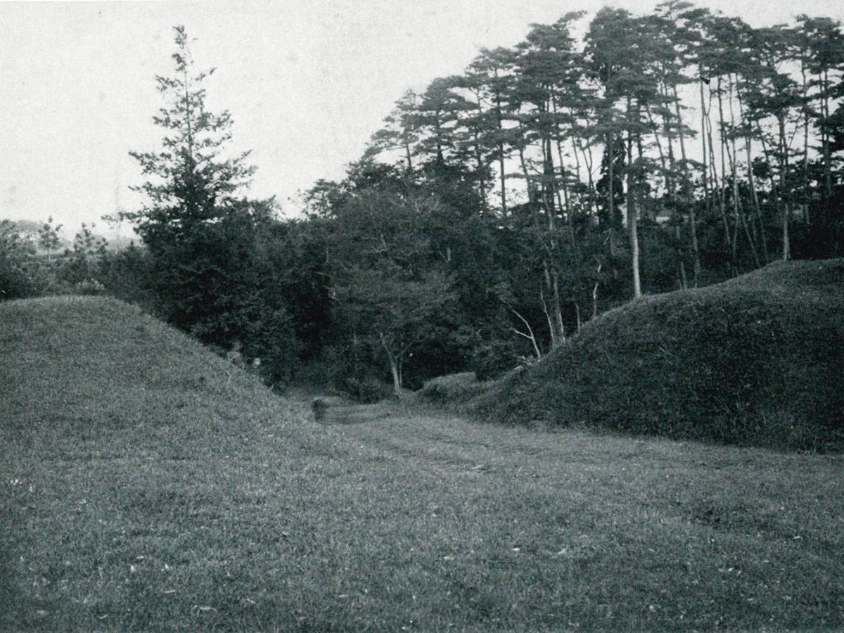 1927(昭和2)年撮影の「練馬城址豊島園」当時の園内風景
