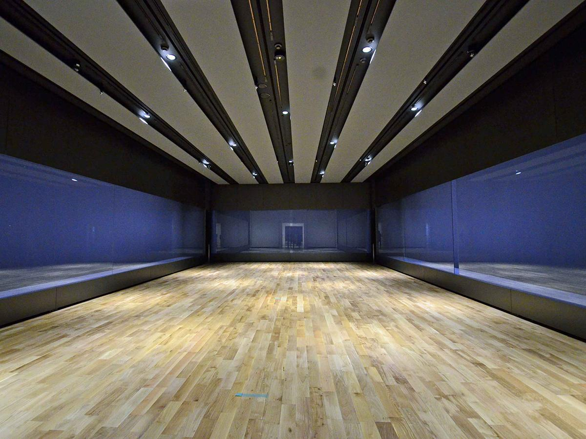 展示室など内部を含めて大きくリフォームされた