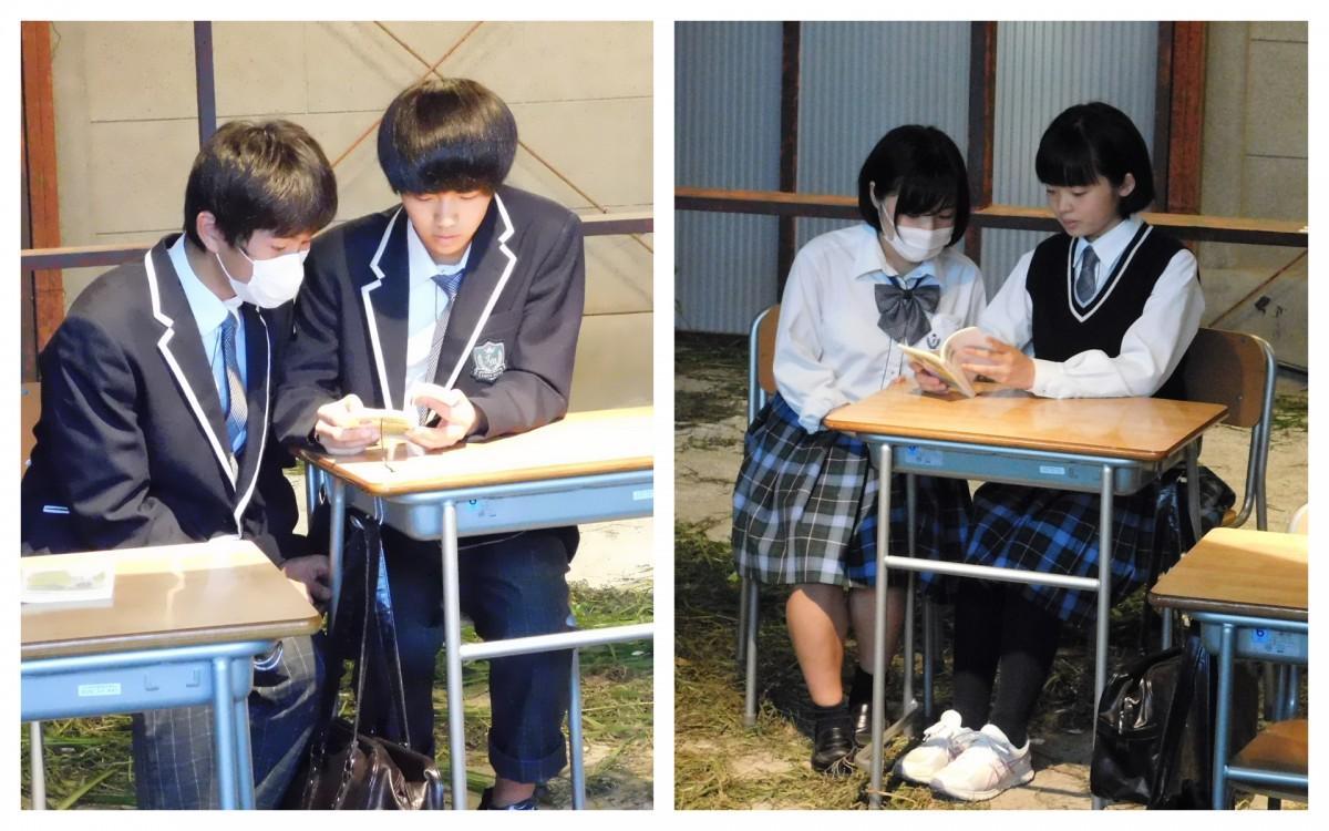 「静物画」では、Aチーム(女子のみ)、Bチーム(男子のみ)が同じ物語を演じる