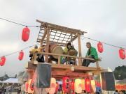 福島県双葉町の盆踊り、いわきの復興団地で開催 櫓の共演も