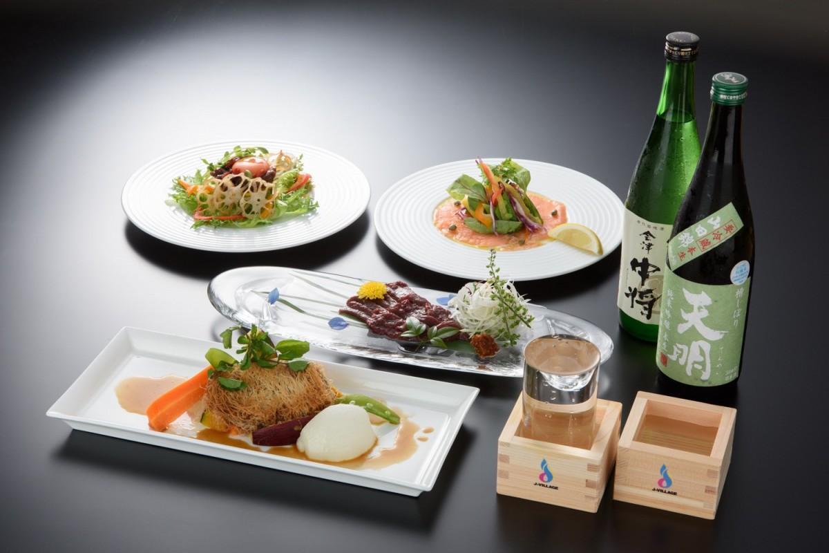 【ニュース】Jヴィレッジで福島産ディナー 県産の食材と酒で旅行気分(いわき経済新聞)