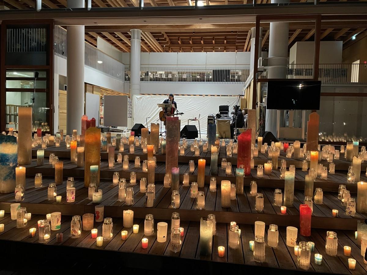【ニュース】【レポート】福島県楢葉町で竹原ピストルさんライブ 町民らが制作したキャンドルをステージに(いわき経済新聞)