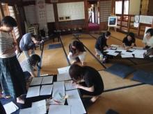 双葉郡楢葉町で、文章を書くことが楽しくなる「身体を使って書く」ライター講座 福島県初開催