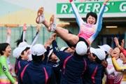 伊東の競輪場で日本競輪学校の卒業レース 5月からプロ、五輪出場も視野に