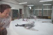 三島の旧幼稚園舎で演劇イベント スペインの演劇集団によるパフォーマンス体験も