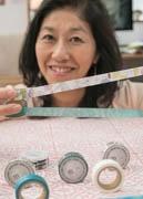 三島の紙製品企画会社がご当地マスキングテープ販売へ 地元作家とのコラボ
