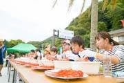 南伊豆の道の駅で「伊勢海老づくし」イベント 早むき大食い選手権も