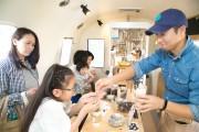 三島にキャンピングカーのコーヒー店 好みに合わせパーソナルコーヒー提供