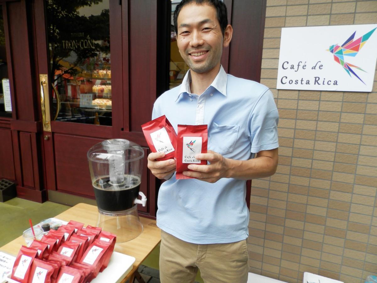「本当においしいコーヒーを届けたい」と話す藤本さん