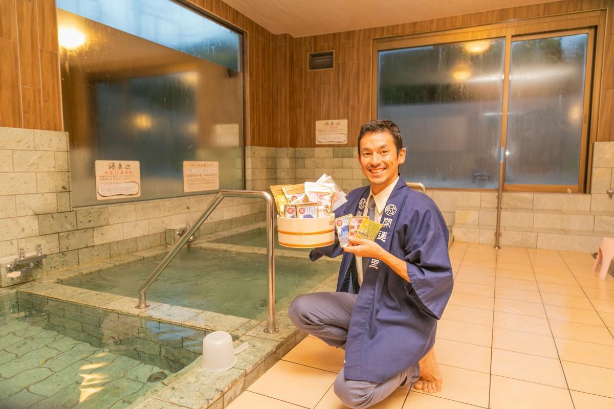 「多くの人に温泉の魅力を家で感じてほしい」と山本さん