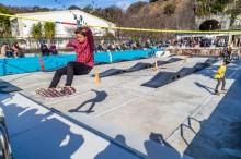 沼津・廃校のプールを「スキルパーク」に BMXやスケートボーダーの聖地目指す