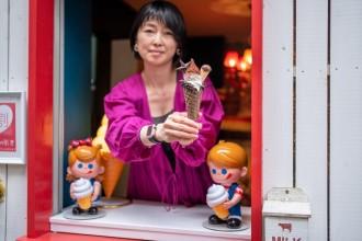 三島にソフトクリームスタンド 女性人気を狙い「かわいらしさ」重視