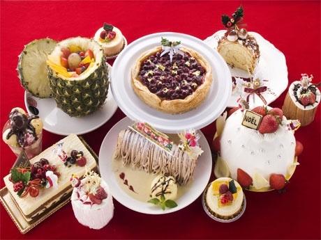 R20指定「乾杯スイーツ!」(5種類)を含むクリスマススイーツ&ケーキ